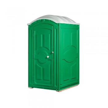 Туалетная кабина под торфяной биотуалет Тандем зеленая