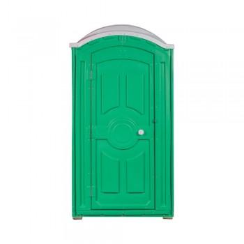 Туалетная кабина с баком Тандем Стандарт зеленая