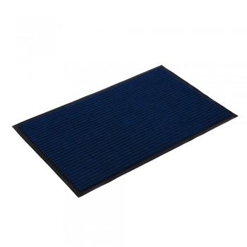 Коврик влаговпитывающий ребристый VORTEX 50х80 см синий 22082