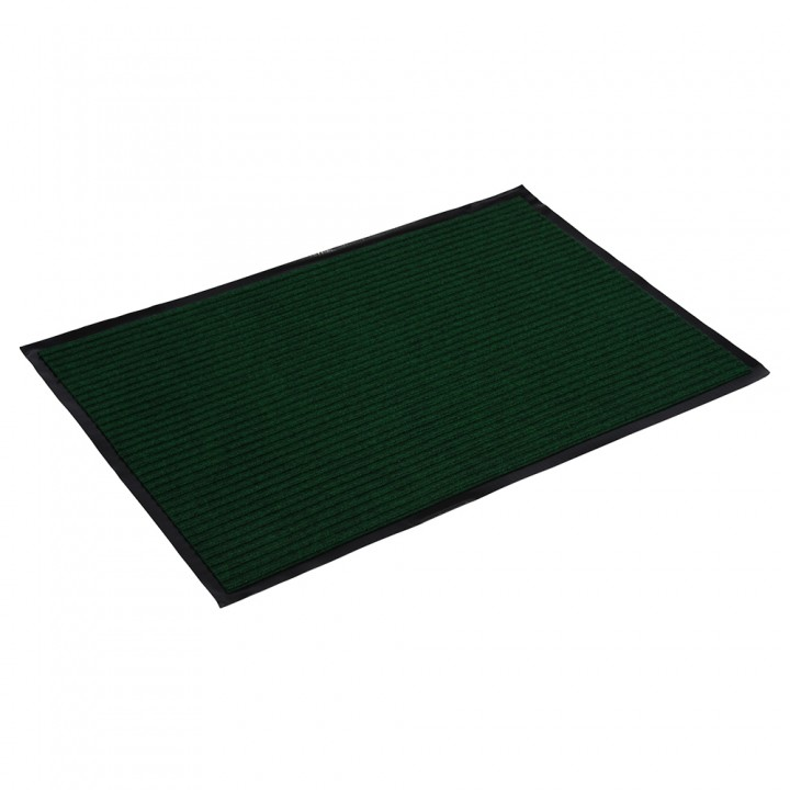 Коврик влаговпитывающий ребристый VORTEX 60*90 см зеленый 22091